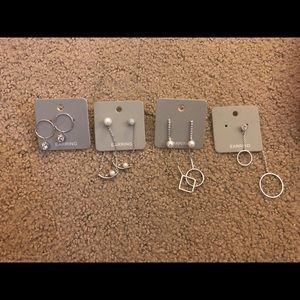 Earrings! 3 pairs + one pair missing a side.